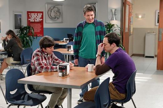 Kripke Annoys Sheldon