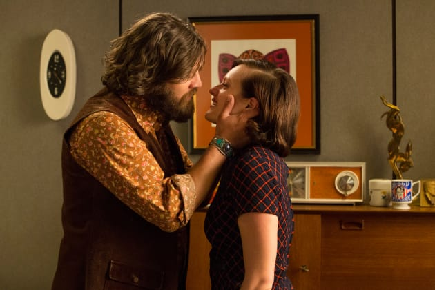 Peggy and Stan - Mad Men Season 7 Episode 14