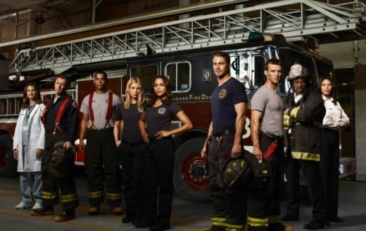Chicago Fire Cast Photo