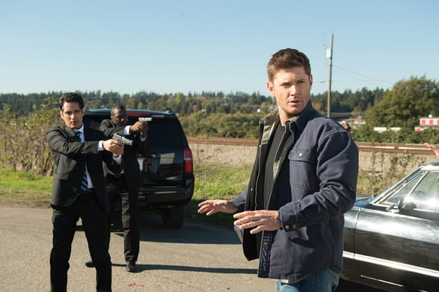 Secret Service is here - Supernatural Season 12 Episode 8