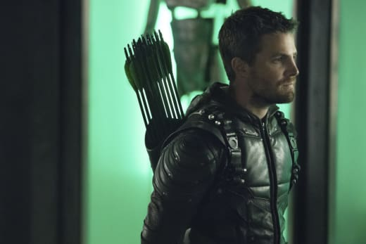 Oliver Is Still The Green Arrow Season 6 Episode 9