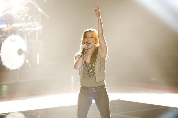 Angie Johnson's Blind Audition