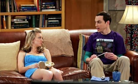 Penny is Stuck with Sheldon