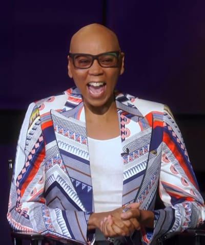 RuPaul Laughing - Tall - RuPaul's Drag Race Season 13 Episode 12