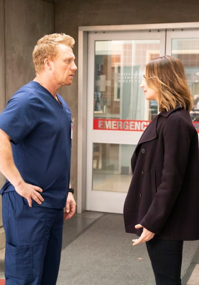 Worried Parental Figures - Tall - Grey's Anatomy Season 15 Episode 13