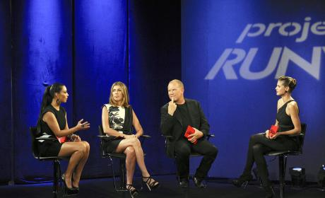 Kim Kardashian on Project Runway