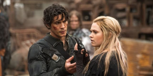 Bellamy and Clarke - The 100