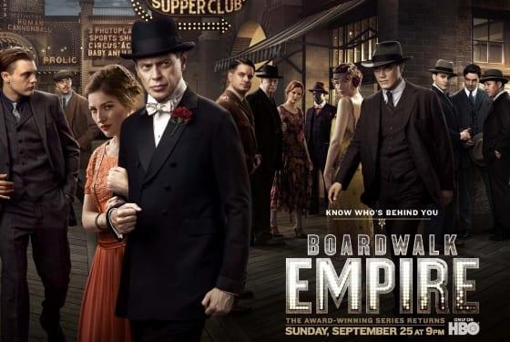 Boardwalk Empire Season Two Poster