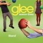 Glee cast stand