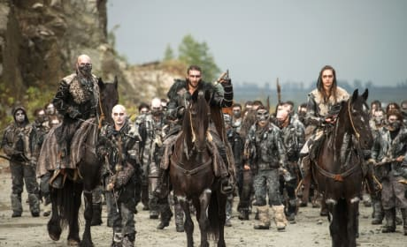The Ice Nation Army – The 100 Season 4 Episode 5