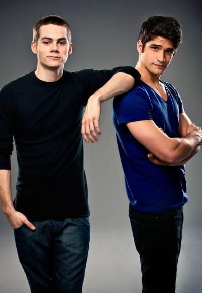 Scott and Stiles