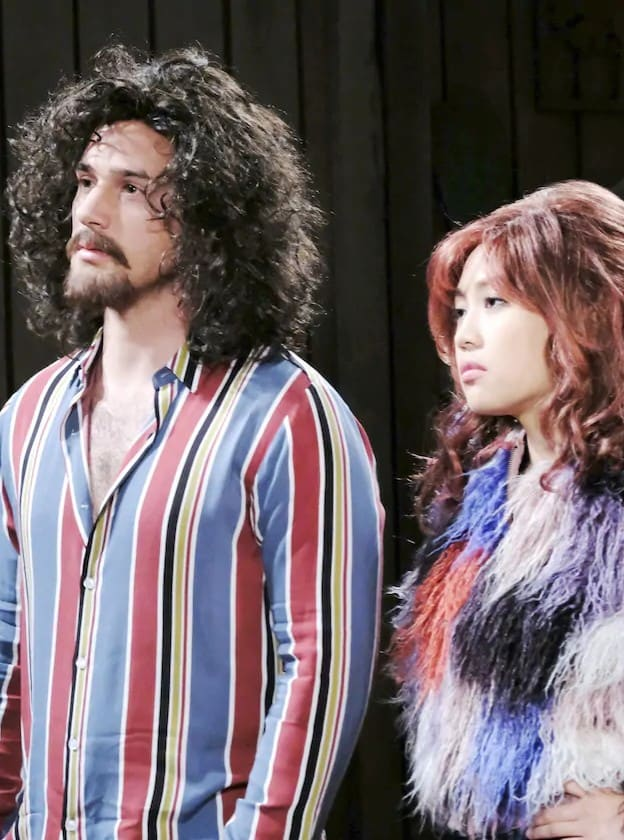 JJ and Haley's Disguises - Days of Our Lives