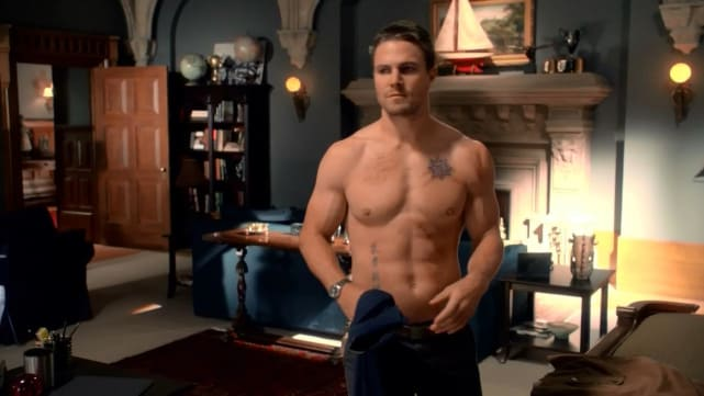 Stephen Amell as Oliver Queen - Arrow