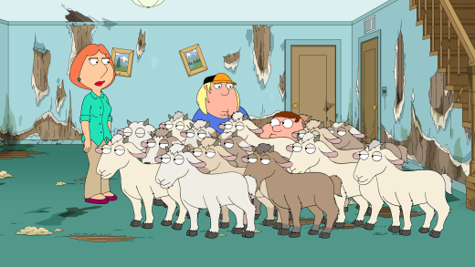 Family Guy - Nanny Goats