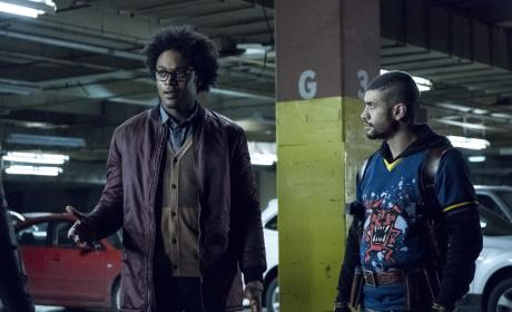 I'm Curtis - Arrow Season 5 Episode 11