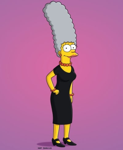 Marge with Gray Hair