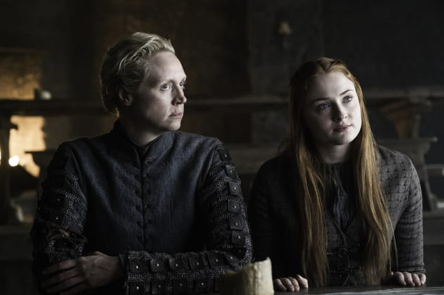 Brienne & Sansa - Game of Thrones Season 6 Episode 5
