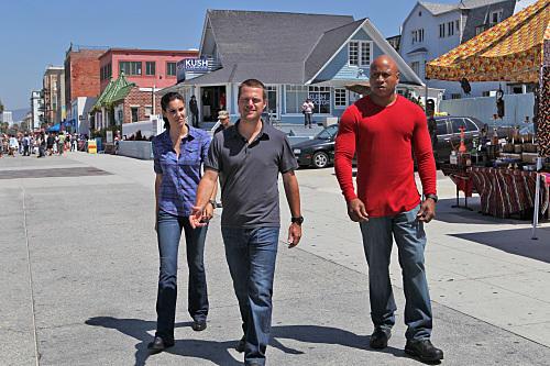 Sam, Kensi and G.