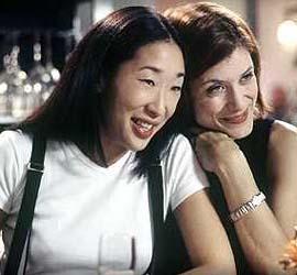 Kate and Sandra