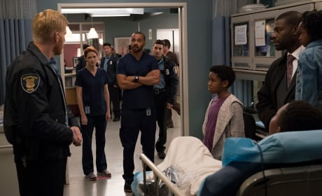 Defiant Jackson  - Grey's Anatomy Season 14 Episode 10