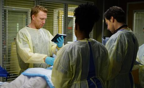 Attending In Charge - Grey's Anatomy Season 13 Episode 17