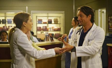 Couple Quarrel - Grey's Anatomy Season 13 Episode 23
