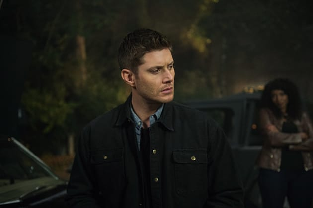 Dean being watched - Supernatural Season 12 Episode 6
