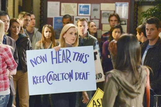 Keep Carlton Deaf