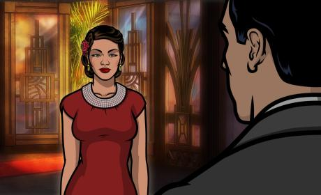 Lana and Archer at Dreamland Season 8 Episode 2