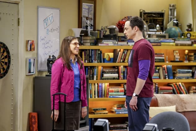 Amy is Excited - The Big Bang Theory Season 10 Episode 13