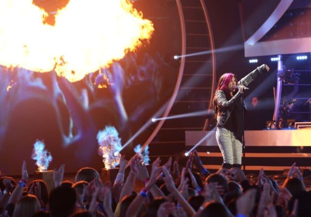 Jessica Meuse on Stage