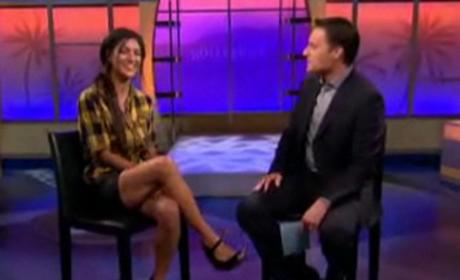 Jessica Szohr Interview with Chris Harrison