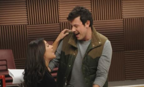 Rachel and Finn Photo