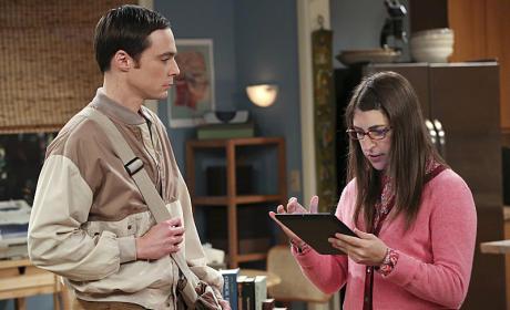 Sheldon Visits Amy