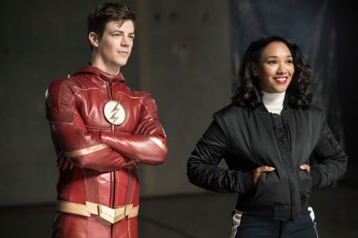 Wife And Husband Reunited - The Flash Season 4 Episode 14
