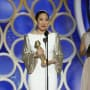 Sandra Oh Accepts Award