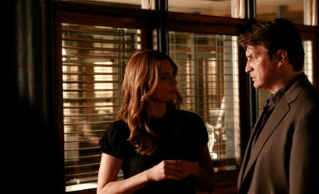 Caskett Interaction - Castle Season 8 Episode 3