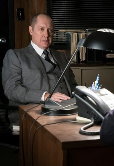 Red antics vertical - The Blacklist Season 4 Episode 9