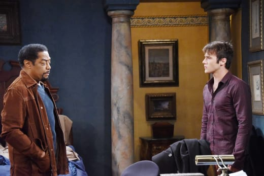 Abe Forgives JJ - Days of Our Lives