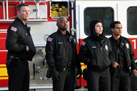 Fire Sibs - 9-1-1: Lone Star Season 2 Episode 6