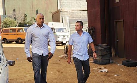 Callen and Sam Picture (NCIS: LA)