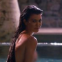 Kourtney Kardashian Having a Dip - Keeping Up with the Kardashians