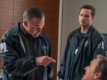 Voight Interrogates Suspect