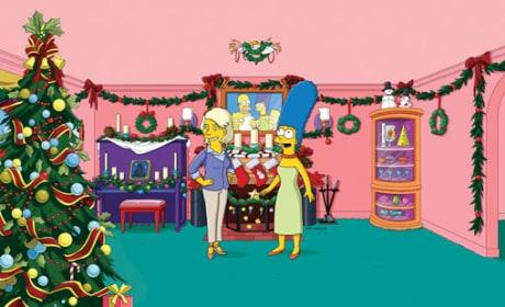 Martha Stewart on The Simpsons