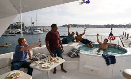 Grey's Anatomy Photo Preview: Guys Day At Sea!