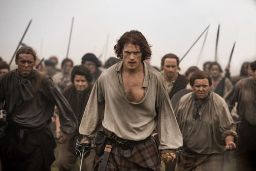 Jamie at Culloden - Outlander