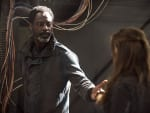 Jaha and Abby - The 100 Season 2 Episode 7