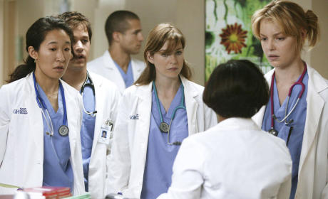 Grey's Anatomy Pilot Pic