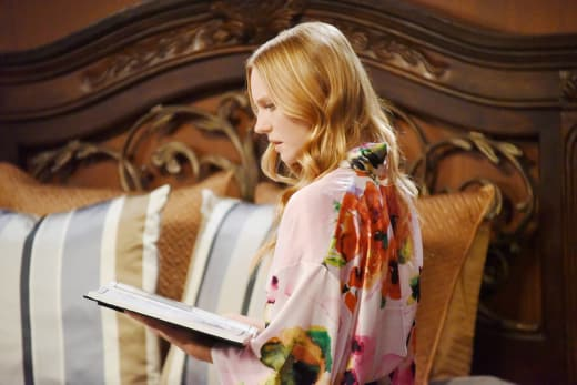 Abigail Reads About Chad and Gabi - Days of Our Lives