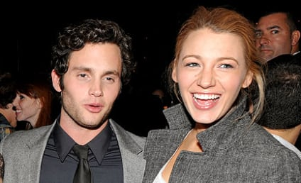 Gossip Girl Stars Support Penn Badgley at Premiere